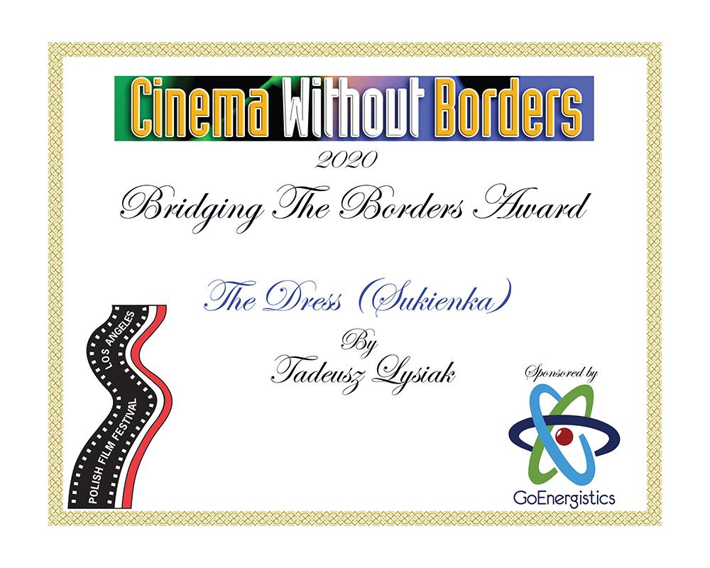 Polish Film Festival Los Angeles - Bridging the Borders Award 2020