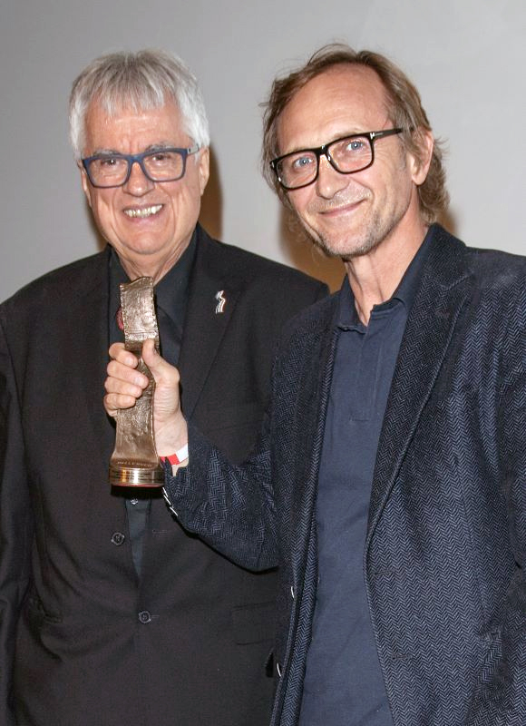 PFFLA 2019 - Andrzej Chyra with the Hollywood Eagle Award for 'Ether' by Krzysztof Zanussi