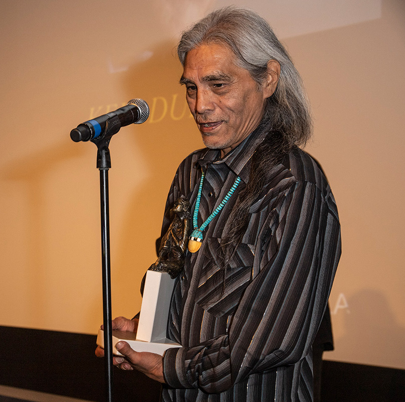 Joseph Runningfox - Recipient of the Pola Negri Award 2019